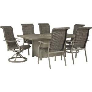 Windon Barn 7 PC Outdoor Furniture Set