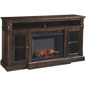 "Roddinton 72"" TV Stand w/Fireplace Insert"