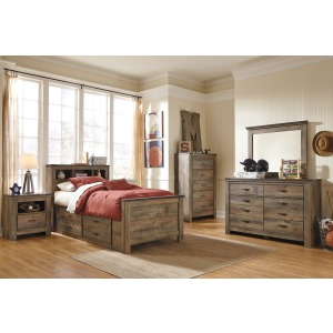6 Piece Storage Bedroom- Twin