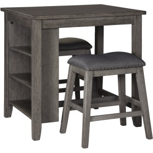 CAITBROOK COUNTER TABLE AND STOOLS