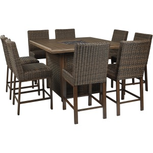 Paradise 9 PC Patio Set