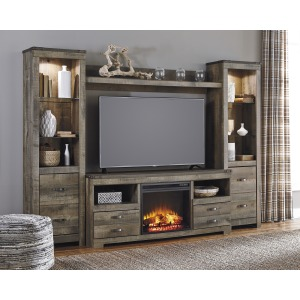 TV Wall Unit with Insert