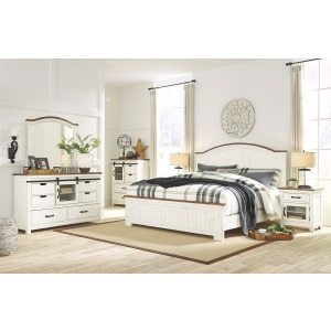 Wystfield 4PC King Bedroom Set