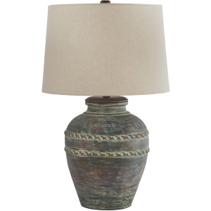 MAIREAD TERRACOTTA TABLE LAMP