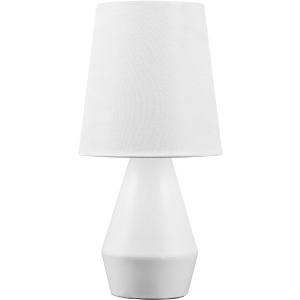 LANRY WHITE METAL TABLE LAMP