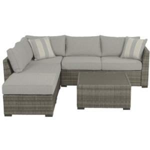 Brickvale 4-piece Outdoor Sectional Set