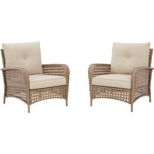 Braylee Lounge Chair with Cushion (Set of 2)