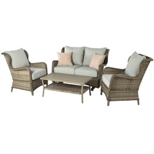 Ulanda Loveseat Glider with Cushion