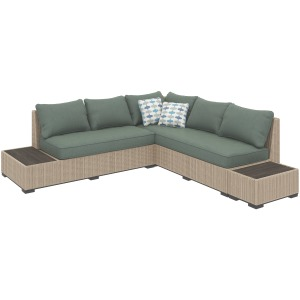Silent Brook 3-piece Outdoor Sectional Set