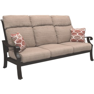 Chestnut Ridge Sofa with Cushion