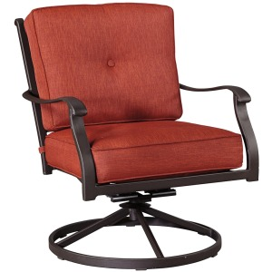 Burnella Swivel Lounge Chair (Set of 2)