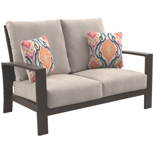 Cordova Reef Loveseat with Cushion