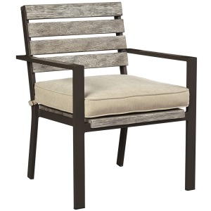 Peachstone Chair with Cushion (Set of 2)