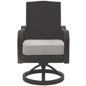 Marsh Creek Swivel Chair with Cushion (Set of 2)