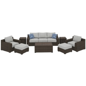 Alta Grande 8-Piece Outdoor Set