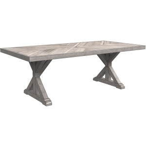 Beachcroft Dining Table with Umbrella Option