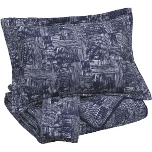 Jabesh 3-Piece King Quilt Set