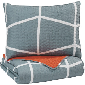 Gage 2-Piece Twin Coverlet Set