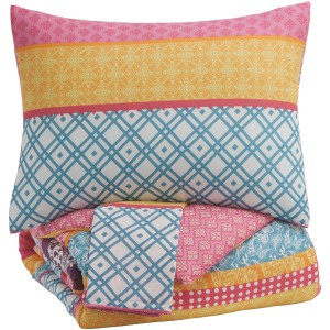 Meghana 3-Piece Full Comforter Set