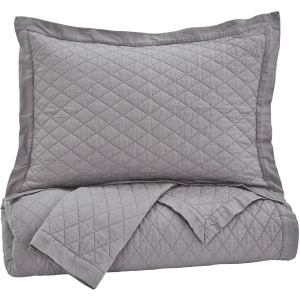 Alecio 3-Piece King Quilt Set
