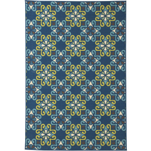 "Glerok 7'10"" x 10'10"" Indoor/Outdoor Rug"