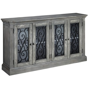 MIRIMYN ANTIQUE GRAY CABINET