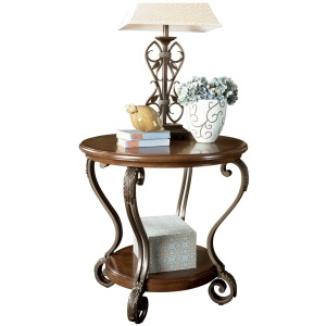 NESTER ROUND END TABLE