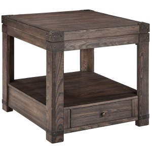 Burladen End Table