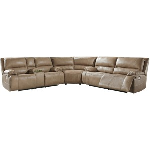 Ricmen 3-Piece Reclining Sectional with Power