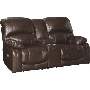 HALLSTRUNG POWER RECLINING LOVESEAT