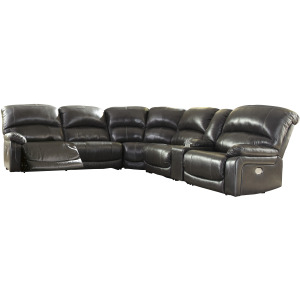 Hallstrung 6-Piece Reclining Sectional with Power