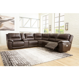 Dunleith 6-Piece Power Reclining Sectional