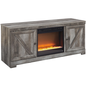 "Wynnlow 63"" TV Stand with Fireplace"