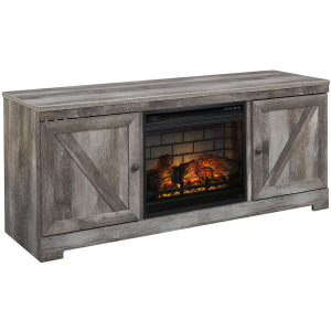"""Wynnlow 63"""" TV Stand with Electric Fireplace"""