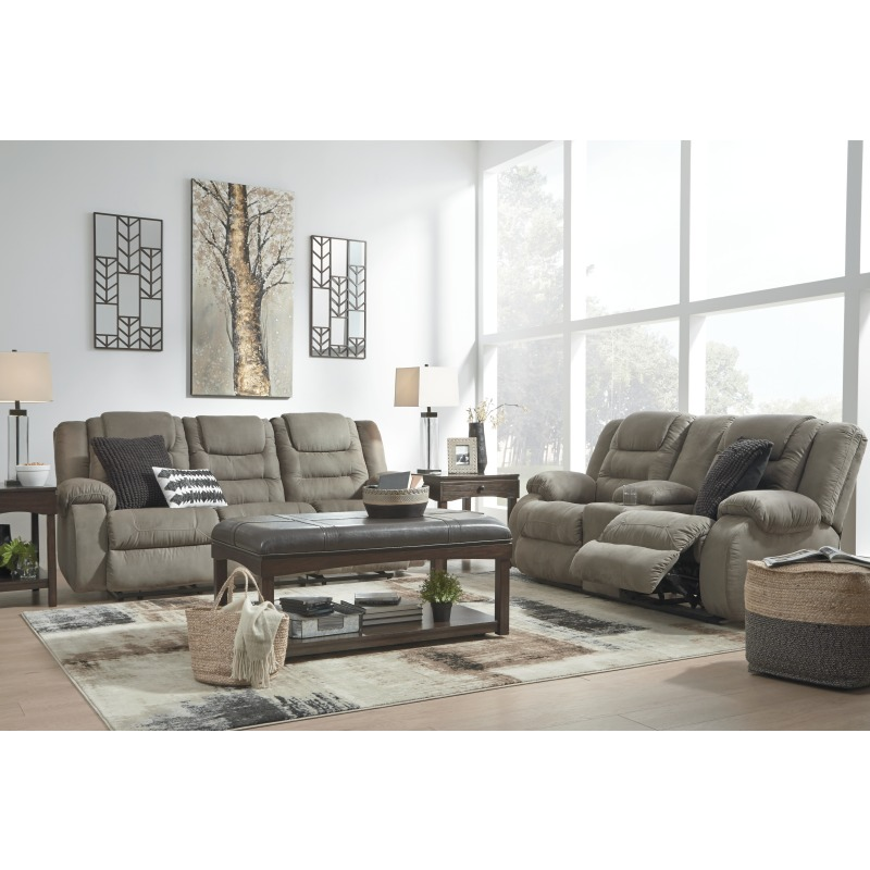 McCade Reclining Loveseat with Console