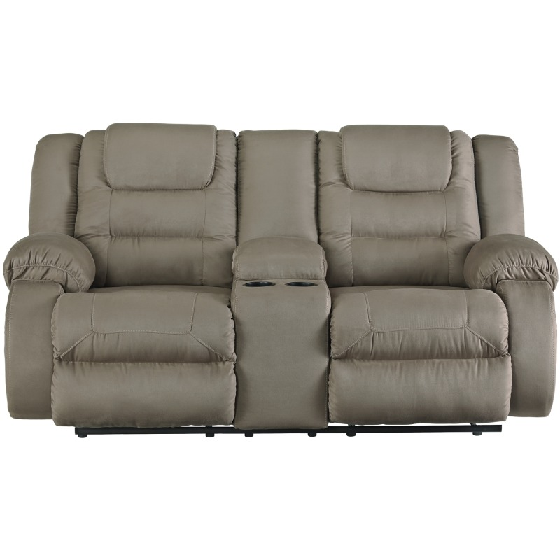 Strange Mccade Reclining Loveseat With Console Onthecornerstone Fun Painted Chair Ideas Images Onthecornerstoneorg