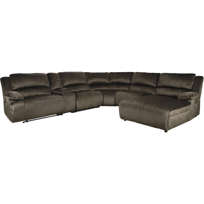 Clonmel 6-Piece Reclining Sectional with Power by ...