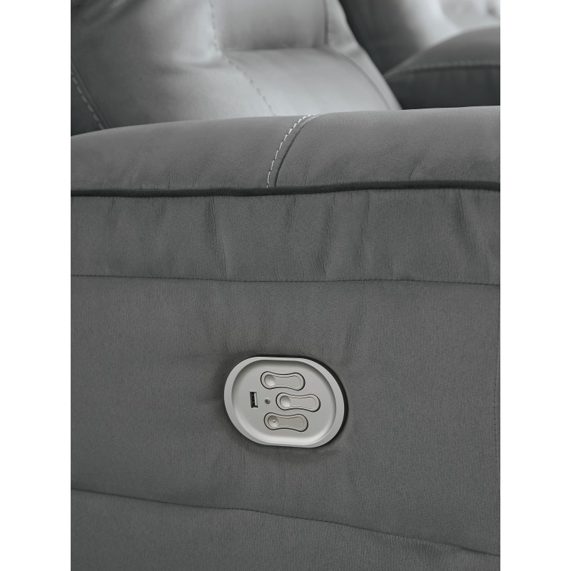 Trampton Power Reclining Loveseat with Console