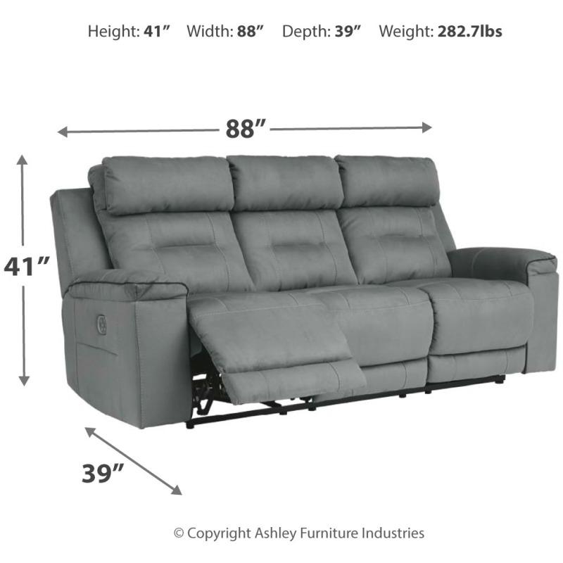 Trampton Power Reclining Sofa