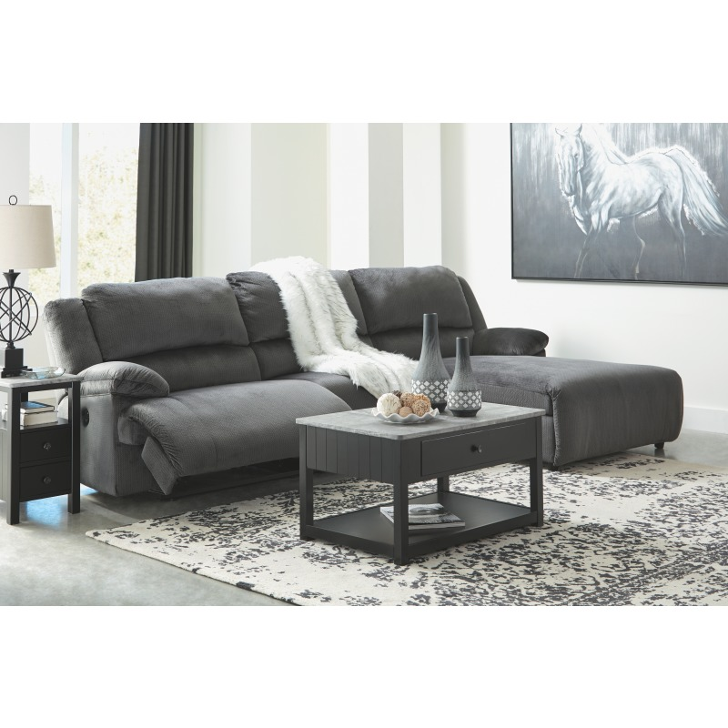 Brilliant Clonmel 3 Piece Reclining Sectional With Chaise And Power By Inzonedesignstudio Interior Chair Design Inzonedesignstudiocom