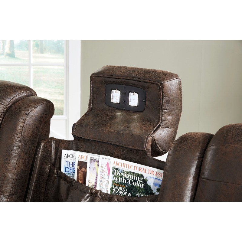 Peachy Game Zone Power Reclining Sofa By Signature Design By Ashley Ibusinesslaw Wood Chair Design Ideas Ibusinesslaworg