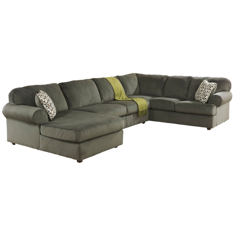 Cool Jessa Place 3 Piece Sectional With Chaise By Signature Gmtry Best Dining Table And Chair Ideas Images Gmtryco