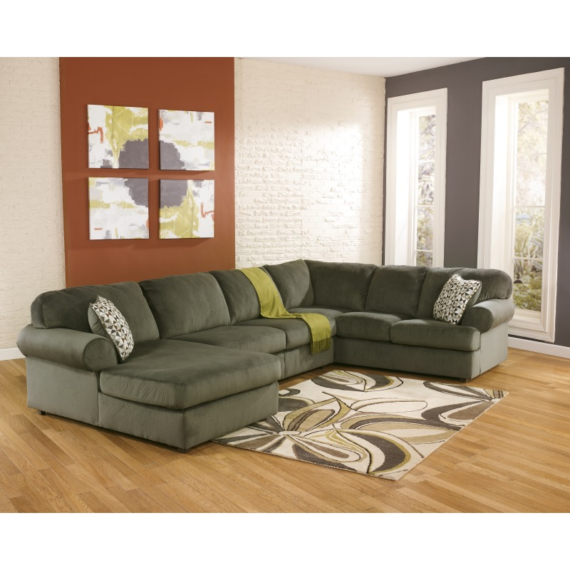Groovy Jessa Place 3 Piece Sectional With Chaise By Signature Spiritservingveterans Wood Chair Design Ideas Spiritservingveteransorg