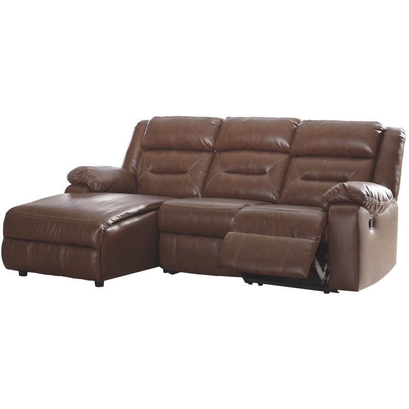 Coahoma 3-Piece Reclining Sectional with Chaise by Signature Design ...