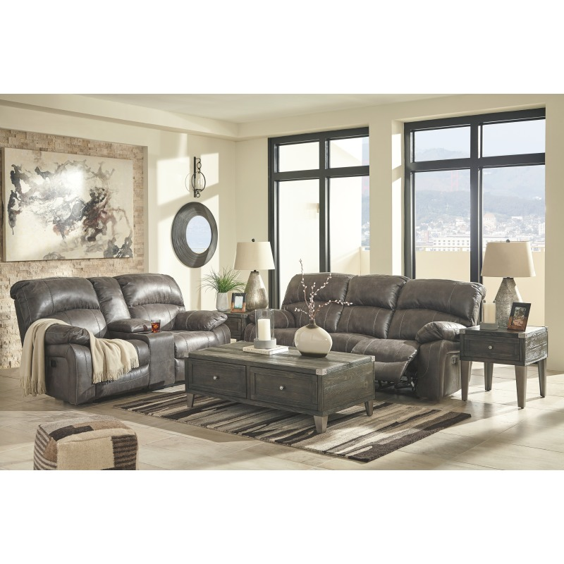 Dunwell Power Reclining Loveseat with Console