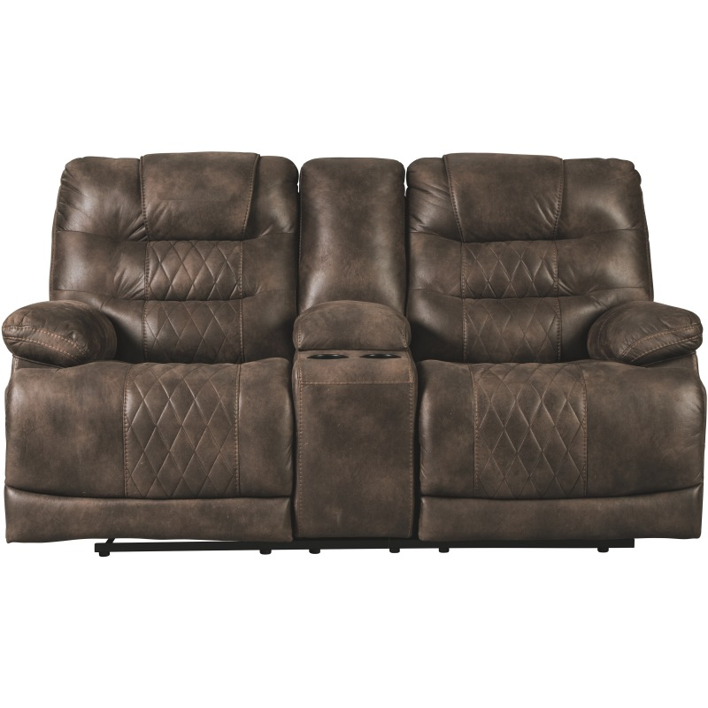Astounding Welsford Power Reclining Loveseat With Console 5430318 Bralicious Painted Fabric Chair Ideas Braliciousco