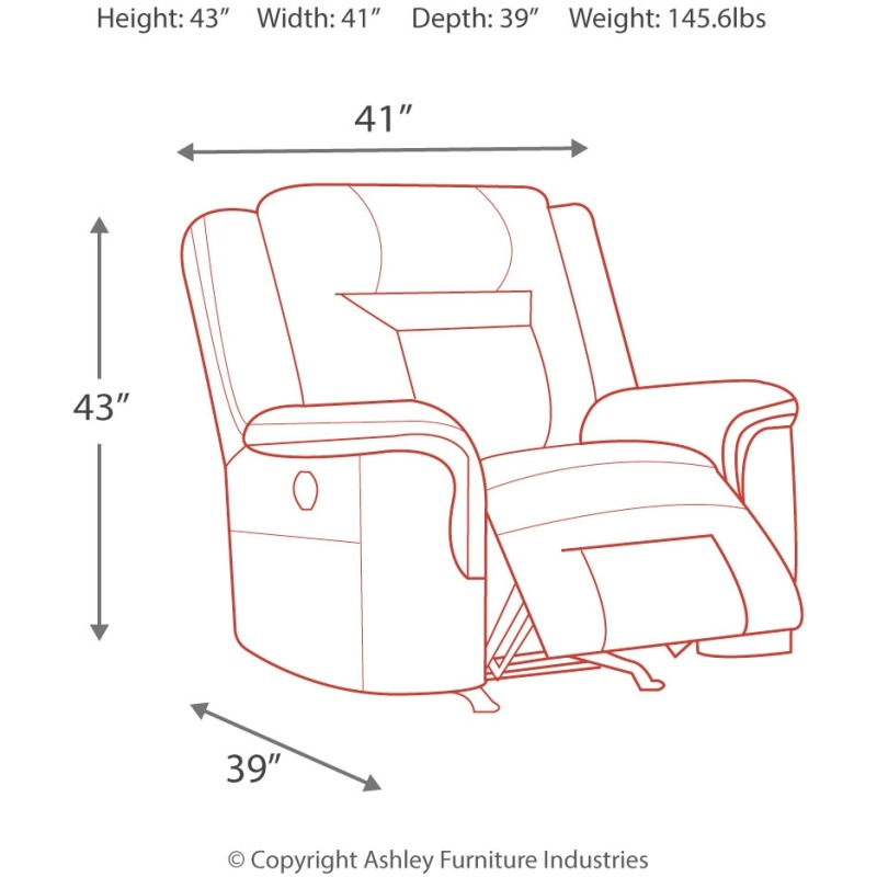 Superb Wyline Power Recliner By Signature Design By Ashley Pdpeps Interior Chair Design Pdpepsorg