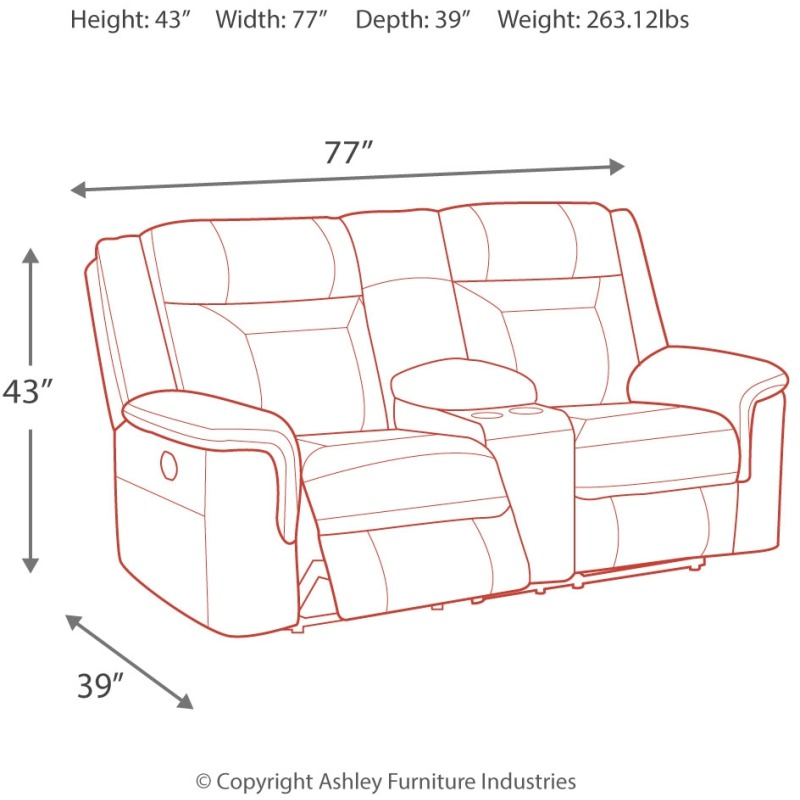 Fine Wyline Power Reclining Loveseat With Console Pdpeps Interior Chair Design Pdpepsorg