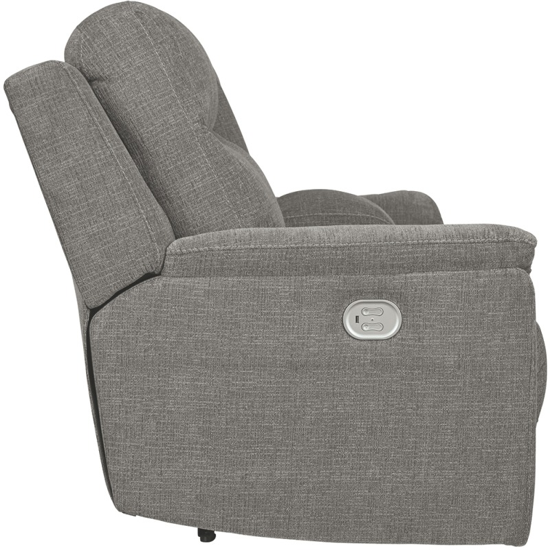 Mouttrie Power Reclining Loveseat with Console