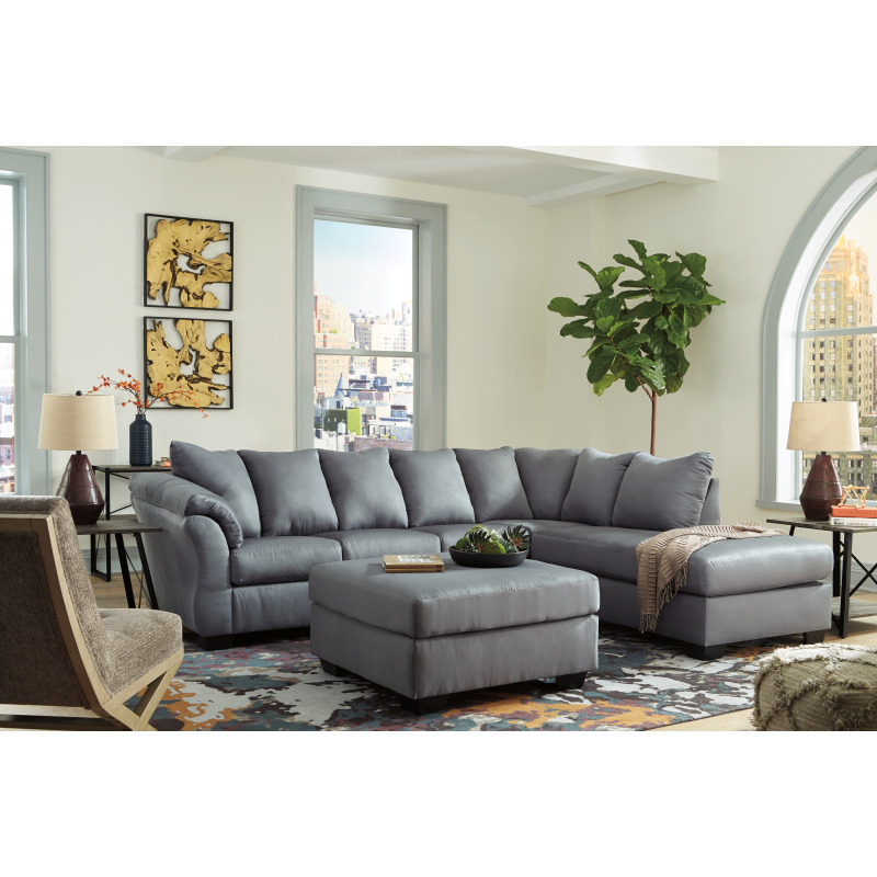 Fabulous Darcy 2 Piece Sectional With Chaise Gmtry Best Dining Table And Chair Ideas Images Gmtryco